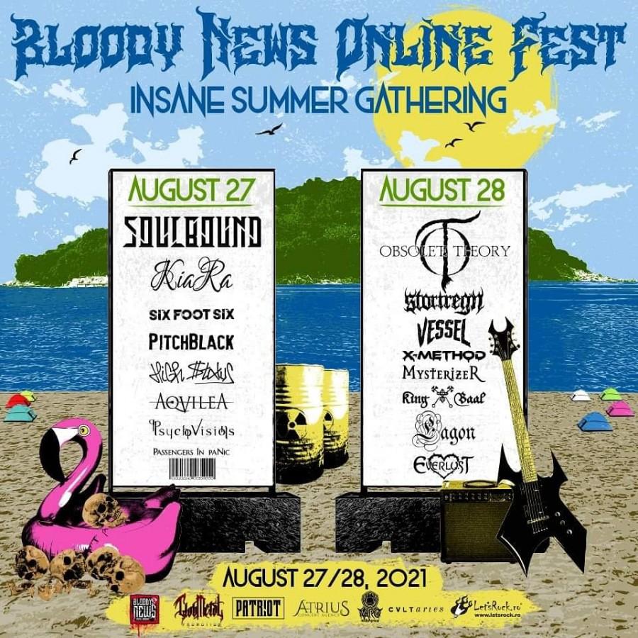 Bloody News Online Fest | Insane Summer Gathering 2021